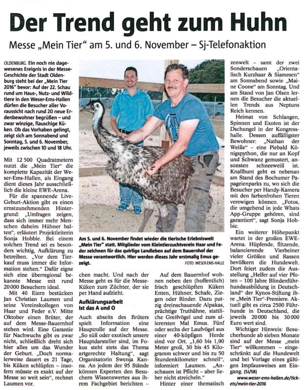 Zevener Zeitung - 23.11.2016